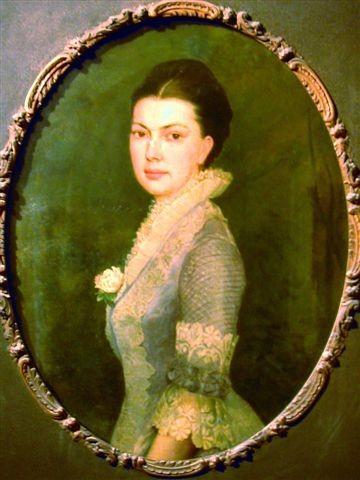 Asta von barby daughter of baron gustav von barby and eveline von